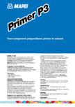 Amorsa poliuretanica bicomponenta pe baza de solvent MAPEI - PRIMER P3