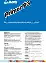 Amorsa poliuretanica bicomponenta pe baza de solvent