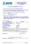 Declaratie de performanta - Strat de acoperire pe baza de ciment utilizat la protectia de suprafata