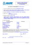 Declaratie de performanta - Mortar hidraulic (R2-PCC) MAPEI - PLANITOP RASA & RIPARA