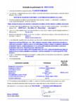 Declaratie de performanta - mortar de zidarie bi-component cu intrebuintari generale (G M25) MAPEI - PLANITOP
