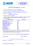 Declaratie de performanta - sapa pe baza de ciment pentru pardoseli interioare MAPEI - PLANEX HR