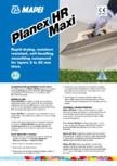 Șapă autonivelantă pe bază de ciment pentru exterior MAPEI - PLANEX HR MAXI
