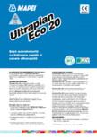 Șapă autonivelantă cu hidratare rapidă și uscare ultrarapidă MAPEI - ULTRAPLAN ECO 20