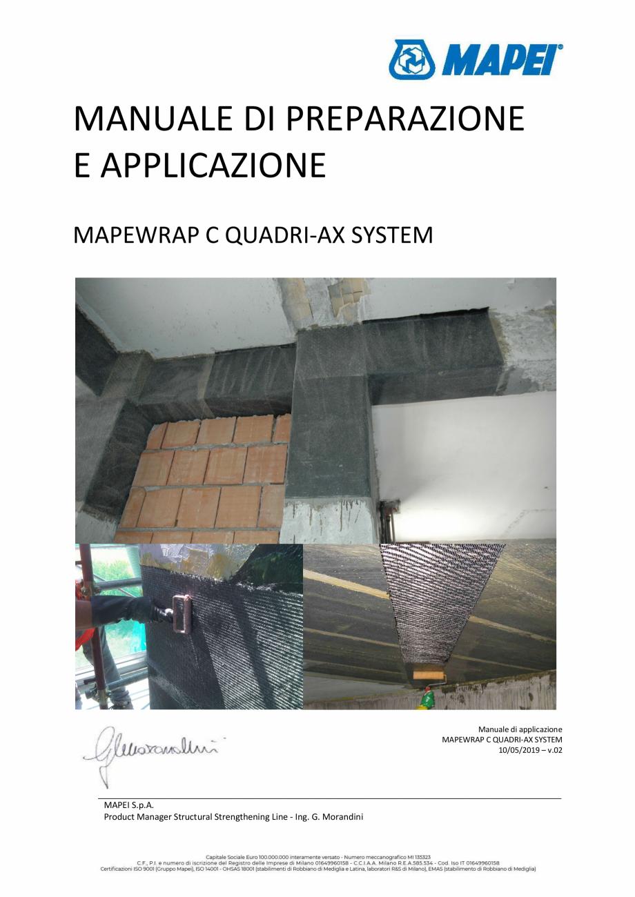 Pagina 1 - Sistem de consolidare structurala din tesatura din fibra de carbon cvadridirectionala -...