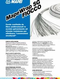 Coarda din fibre de otel cu rezistenta ridicata pentru realizarea conexiunilor structurale