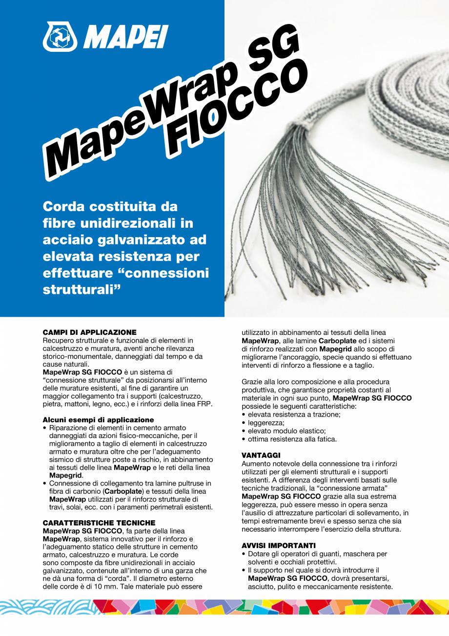 Pagina 1 - Coarda din fibre de otel cu rezistenta ridicata pentru realizarea conexiunilor...