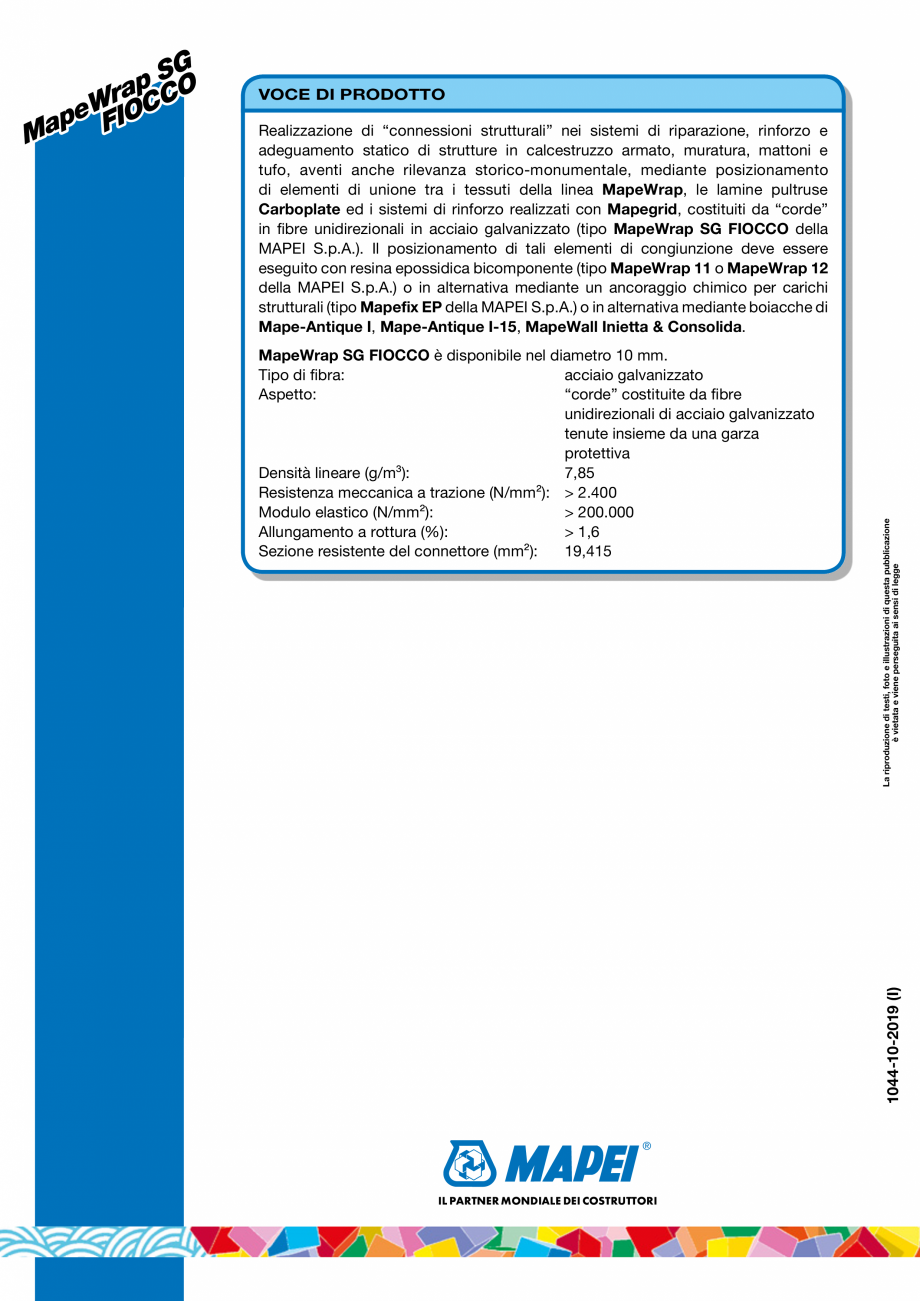Pagina 6 - Coarda din fibre de otel cu rezistenta ridicata pentru realizarea conexiunilor...