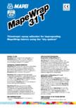 """Rasina epoxidica cu vascozitate mare pentru impregnarea tesaturilor MapeWrap in """"sistem uscat"""" MAPEI - MAPEWRAP 31"""