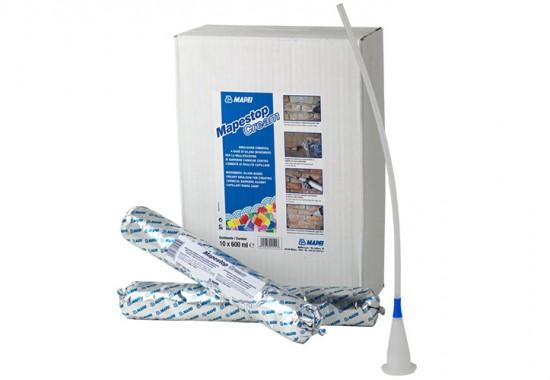 Injectii pentru realizarea barierelor de rupere a capilaritatii in zidarii si elemente din beton MAPEI