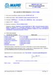 Declaratie de performanta - Aditiv stabilizator pentru betoane EN 934-2 (T.4) MAPEI - MAPEPLAST UW