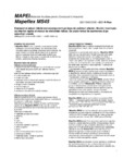 Etansant si adeziv hibrid monocomponent MAPEI - MAPEFLEX MS45