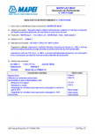 Declaratie de performanta - Etansant pentru utilizari nestructurale la interior si exterior MAPEI - MAPEFLEX MS45