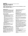 Sigilant si adeziv poliuretanic monocomponent cu modul de elasticitate mare MAPEI - MAPEFLEX PU 45 FT