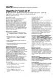 Produs poliuretanic de finisare bicomponent in dispersie apoasa pentru tratament antipraf si antiulei MAPEI - MAPEFLOOR