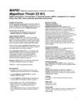 Sigilant poliuretanic bicomponent in dispersie apoasa pentru protectia sistemelor de pardoseli MAPEI - MAPEFLOOR FINISH 53