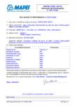 Declaratie de performanta - sapa autonivelata bicomponenta pe baza de rasini sintetice pentru utilizari la pardoseli