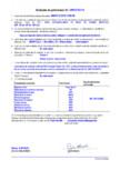 Declaratie de performanta - sapa autonivelanta pe baza de rasina sintetica (SR - B 2 0
