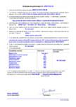 Declaratie de performanta - sapa pe baza de rasina sintetica (SR - B 2 0 -