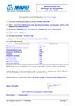 Declaratie de performanta Material pe baza de rasina epoxidica bicomponenta pentru sape utilizate la pardoseli interioare