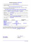 Declaratie de performanta - Mortar de nivelare/tencuire pentru renovari  MAPEI - MAPE-ANTIQUE CC