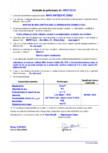 Declaratie de performanta - Mortar de nivelare/tencuire cu intrebuintari generale MAPEI - MAPE-ANTIQUE FC CIVILE