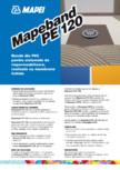 Banda din PVC pentru sistemele de impermeabilizare, realizate cu membrane lichide MAPEI - MAPEBAND PE 120