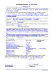 Declaratie de performanta - produs bi-component pe baza de rasini destinat protejarii suprafetelor - acoperiri MAPEI