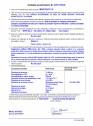 Declaratie de performanta - produs bi-component pe baza de rasini destinat  protejarii suprafetelor - acoperiri