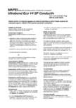 Adeziv acrilic in dispersie apoasa de culoare deschisa pentru pardoseli conductive MAPEI - ULTRABOND ECO V4SP
