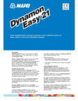 Aditiv superfluidizant pe baza de polimer acrilic modificat MAPEI - DYNAMON EASY 21