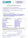Declaratie de performanta pentru aditiv superplastifiant