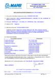 Declaratie de performanta pentru aditiv superplastifiant  MAPEI - DYNAMON NRG 1020