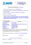 Declaratie de performanta pentru aditiv puternic reducator de apa accelerator de priza MAPEI - DYNAMON NRG