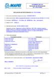 Declaratie de performanta pentru aditiv superplastifiant/puternic reducator de apa MAPEI - DYNAMON SR 914