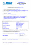 Declaratie de performanta pentru aditiv superplastifiant/puternic reducator de apa  MAPEI - DYNAMON SX 24