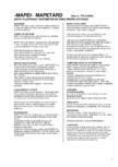 Aditiv plastifiant incetinitor de priza pentru betoane MAPEI - MAPETARD