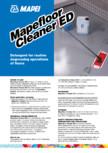 Detergent pentru curatarea zilnica si degresarea pardoselilor sintetice MAPEI - MAPEFLOOR CLEANER ED