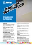 Solutie pentru indepartarea stratului protector de ceara de pe pardoseli sintetice MAPEI - MAPEFLOOR WAX REMOVER
