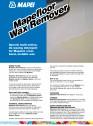 Solutie pentru indepartarea stratului protector de ceara de pe pardoseli sintetice
