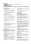 Adeziv policloroprenic in solventi cu aplicare pe suport si pe finisaj  MAPEI - ADESILEX VZ