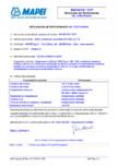 Declaratie de performanta - Aditiv accelerator de intarire EN 934-2 (T 7) MAPEI - MAPEFAST CF