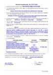 Declaratie de performanta - Produs pentru protectia suprafetelor - impregnare hidrofoba MAPEI - MAPECRETE CREME PROTECTION
