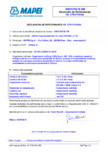 Declaratie de performanta - Aditivi impermeabilizator în masă EN 934-2, (T.9) MAPEI - IDROCRETE DM