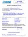 Declaratie de performanta - Aditivi impermeabilizator în masă EN 934-2, (T.9)