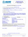 Declaratie de performanta - Aditiv impermeabilizant pentru utilizarea la betoane in conformitate cu EN 934-2 (T