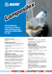 Liant hidraulic cu priză și întărire ultra-rapidă pentru stoparea infiltraţiilor de apă MAPEI - LAMPOSILEX