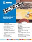 Agent pentru decofrare, emulsifiant, pentru cofraje din lemn MAPEI - Form Release Agent DMA 1000