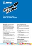 Primer epoxidic cu doua componente pentru suprafete metalice MAPEI - PRIMER EP RUSTOP