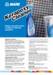 Soluție speciala pentru curatarea chiturilor epoxidice MAPEI - KERAPOXY CLEANER